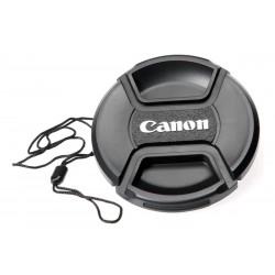 Commlite sprednji pokrovček objektiva za Canon z varnostno vrvico