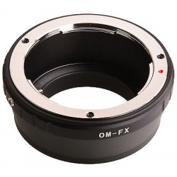 Olympus OM na Fuji X mount adapter