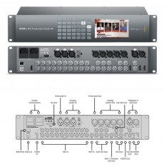 Blackmagic SWATEMPSW2ME4K ATEM 2 M/E Production Studio 4K