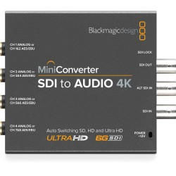 Blackmagic CONVMCSAUD4K Mini Converter - SDI to Audio 4K