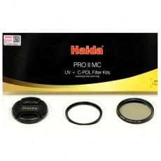 HAIDA filter KIT: Slim PROII MC UV + Slim PROII MC C-POL + pokrovček