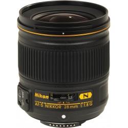 Nikon AF-S 28mm f/1,8G NIKKOR