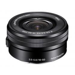Sony E PZ 16–50 mm F3,5–5,6 OSS objektiv (SELP1650)