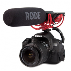 RODE VIDEO MIC WITH RYCOTE LYRE SUSPENSION - SHOTGUN CONDENSER MICROPHONE