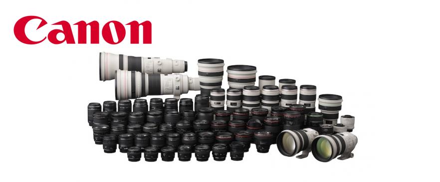 Canon objektivi
