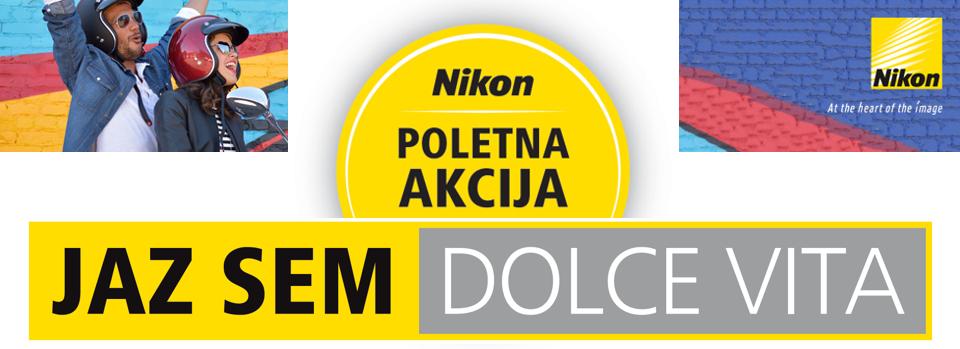 Nikon poletna akcija