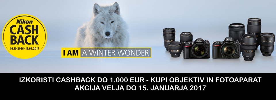 Zimski Nikon Cashback