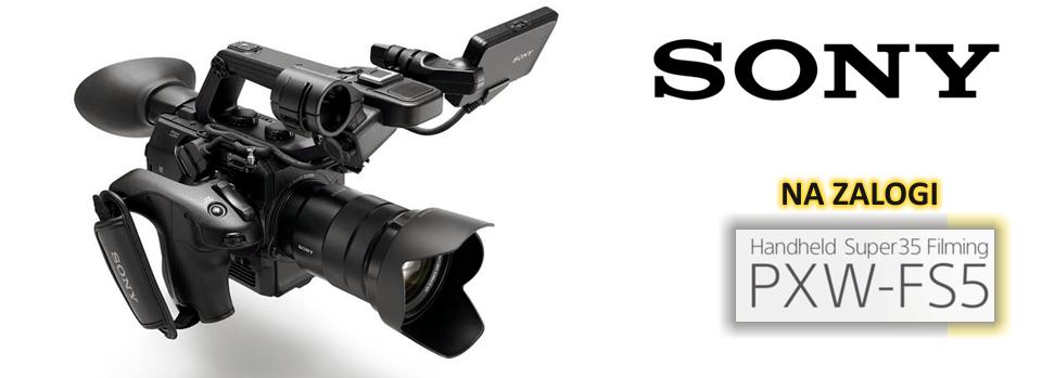 Sony 4K - PXW-FS5 kompleti