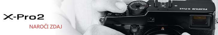 Najnovejši Fujifilm X-PRO2 je že možno naročiti, klikni tukaj!