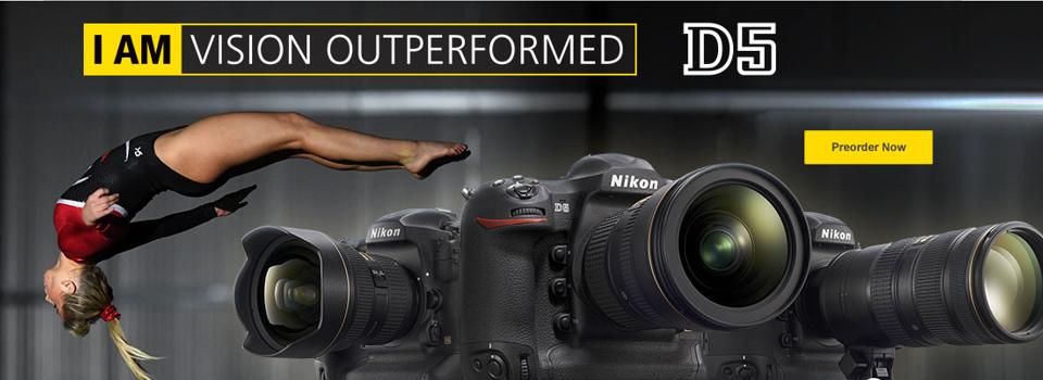 Naroči najnovejši Nikon D5