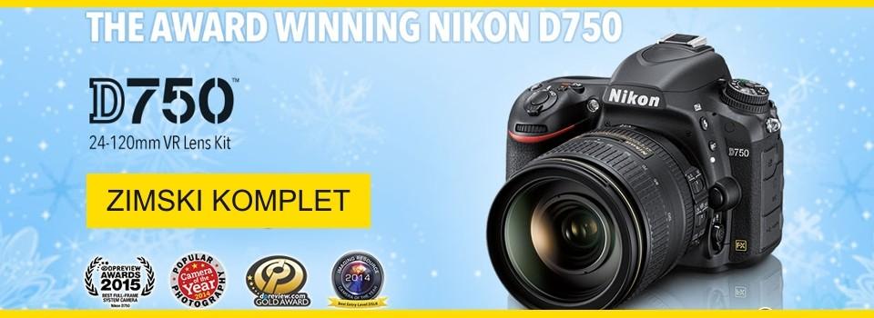 Nikon D750 ZIMSKI AKCIJSKI KOMPLET