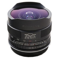 Zenit Shvabe 16mm f/2,8 Fisheye MC za Canon