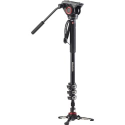 Manfrotto MVM500A monopod s fluidno video glavo