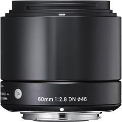Sigma 60mm F2.8 DN | A black