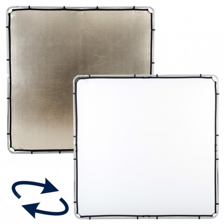 Lastolite Skylite Rapid Fabric Large 2 x 2m Sunfire/White