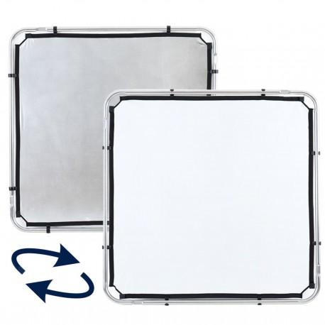 Lastolite Skylite Rapid Fabric Small 1.1 x 1.1m Silver/White