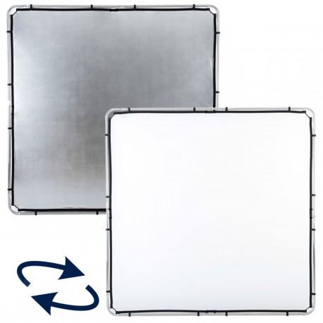 Lastolite Skylite Rapid Fabric Large 2 x 2m Silver/White