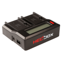 HEDBOX RP-DC50 Digitalni dvojni polnilnik