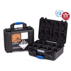 Blueshape BX8 - UN Certified Flight Case za 8 baterije Granite Mini