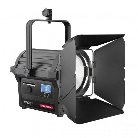"Rayzr 7 200BM Bi-Color 7"" LED Fresnel Light - Premium Pack"