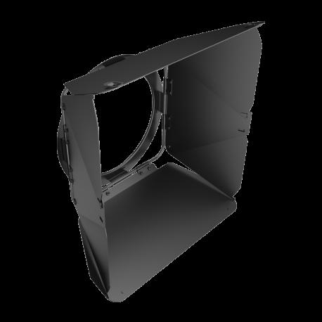 """Rayzr 7 8-Leaf Barndoor for 7"""" LED Fresnel Ligh"""