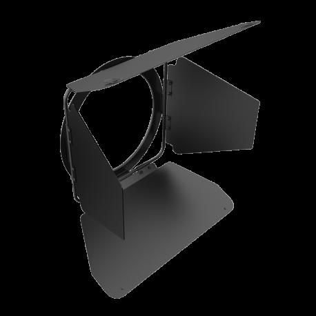 """Rayzr 7 4-Leaf Barndoor for 7"""" LED Fresnel Ligh"""