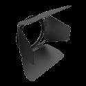 "Rayzr 7 4-Leaf Barndoor za 7"" LED Fresnel luč"