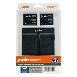 Jupio Duo USB polnilnik + 2x DMW-BLG10 bateriji