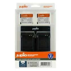 Jupio Duo USB polnilnik + 2x DMW-BCM13E bateriji