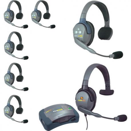 Eartec UltraLITE UL7S HUB7SMXS KIT