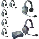 Eartec UltraLITE Kit: HUB Intercom System za 7 oseb