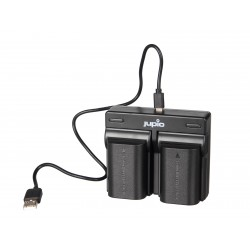 Jupio DUO USB polnilnik za DMW-BLF19E