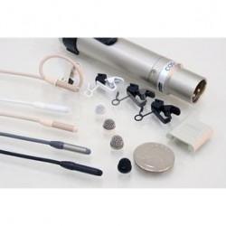 SANKEN COS-11D/BP Lavalier mikrofon z AA baterijo PSU XLR-M