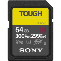 Sony 64GB SF-G TOUGH UHS-II SDXC