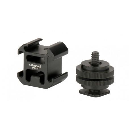 Ulanzi Triple Camera Hot Shoe Mount Adapter