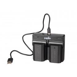 Jupio DUO USB polnilnik za NP-FZ100
