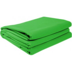 Datavideo Green Chromakey Fabric 3x6m