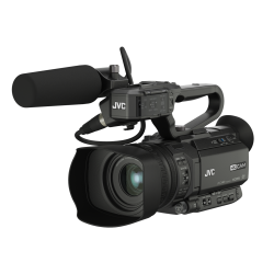 JVC GY-HM180E - Compact 4K camcorder with 3G-SDI + Microphone
