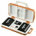 Jupio zaščitna škatla za 2 bateriji in 14 spominske kartice