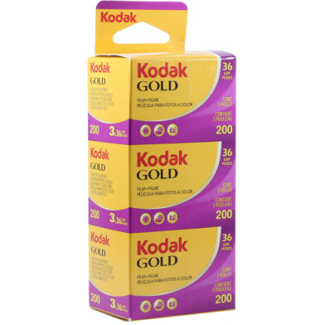 Kodak Gold ISO 200 - 135mm film - 3x36