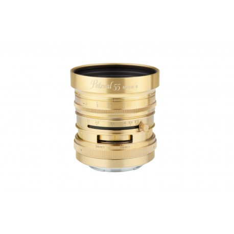 LOMOGRAPHY Petzval 55 mm f/1.7 MKII Brass