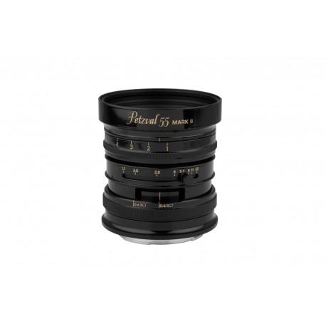 LOMOGRAPHY Petzval 55 mm f/1.7 MKII Black Brass