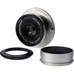 Voigtlander Heliar 40 mm/F2,8 Nickel for close focus adapter VM / E