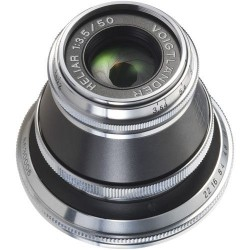 Voigtlander Heliar 50 mm/F3,5 black-silver