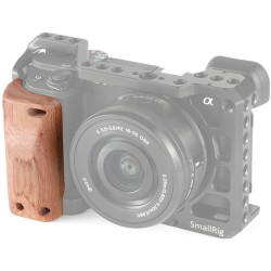 SmallRig Wooden Handgrip for Sony A6400 Cage