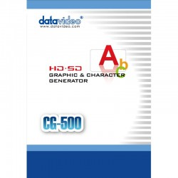 Datavideo  CG-500 SD/HD Professional CG Solution