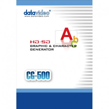 Datavideo  CG-500 SD/HD Professional CG Solution