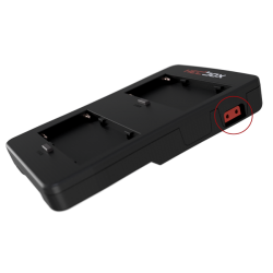 HEDBOX HBP-NPF Power V-lock Plate