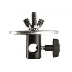 Manfrotto adapter 16mm ženski 3/8 z diskom 80mm