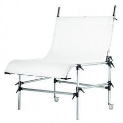 Manfrotto STILL LIFE miza brez plexija srebrna - 220PSL